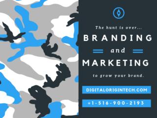 Branding and marketing - grow your brand with Digital Origin