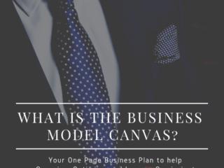 Digital Origin - Business Model Canvas One Page Business Plans